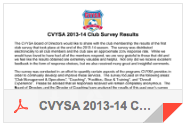 CVYSA 2013-14 Club Survey Results