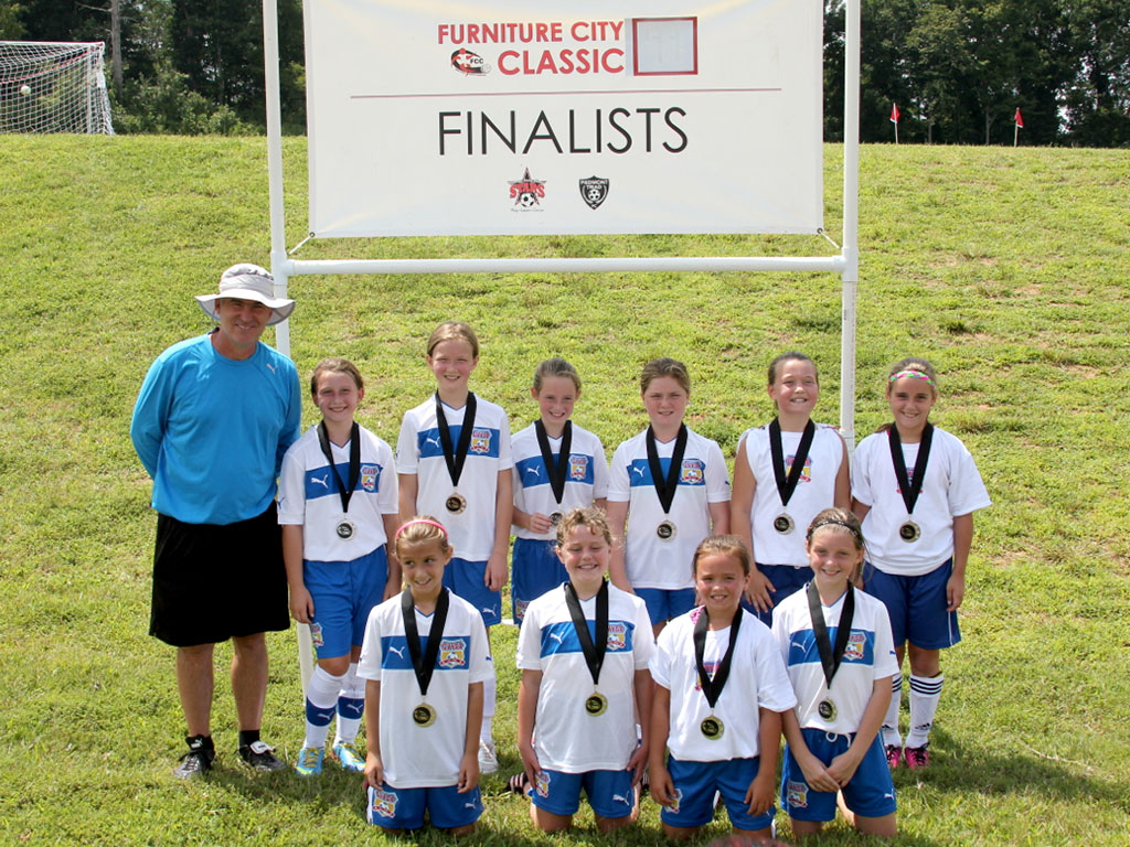 CVYSA U11 Girls are Finalist in the 2013 Furniture City Classic